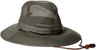 5bc60bce64f Dorfman Pacific Co. Men s Garment Washed Twill Safari with UV Mesh