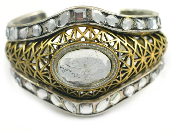 Moroccan Crystal Cuff