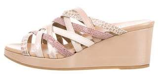 Anyi Lu Multistrap Wedge Sandals