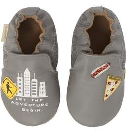 Robeez R) City Life Moccasin Crib Shoe