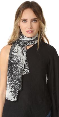 Diane von Furstenberg New Boomerang Stella Fresco Scarf $178 thestylecure.com