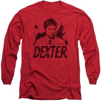 Dexter Trevco Long Sleeve Splatter Dex Longsleeve Shirt Size S