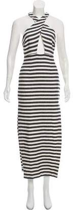 Mara Hoffman Striped Maxi Dress