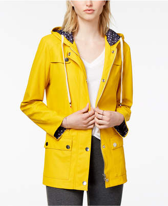 Maison Jules Hooded Raincoat