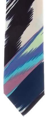 Missoni Printed Silk Tie