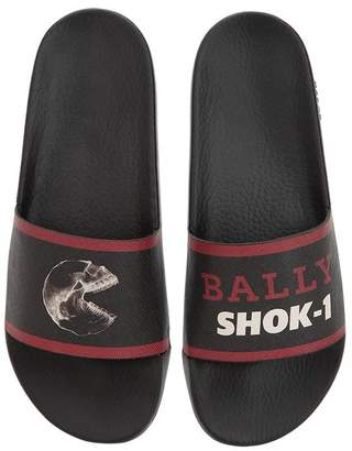 Bally Shok-1 X Swizz Beatz Printed Sandals