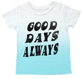 TINY WHALES Good Days Always Dip Dye T-Shirt