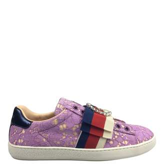 Gucci Purple Women s Sneakers - ShopStyle a5e1ad646