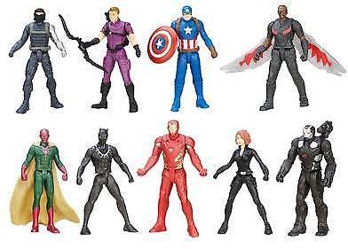 Avengers Captain America Civil War Hero vs Hero Faceoff Exclusive Set