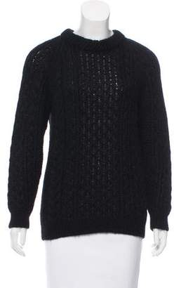 Saint Laurent Mohair Knit Sweater