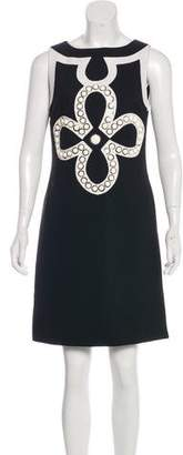 Tory Burch Embellished Mini Shift Dress