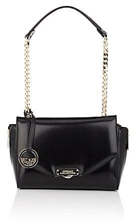 f5e87a5aea70 Versace WOMEN S SMALL LEATHER SHOULDER BAG - BLACK - ShopStyle