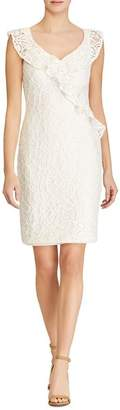 Ralph Lauren Ruffle-Trimmed Lace Dress - 100% Exclusive
