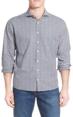 Singer + Sergant Regular Fit Long Sleeve Cotton Sport Shirt
