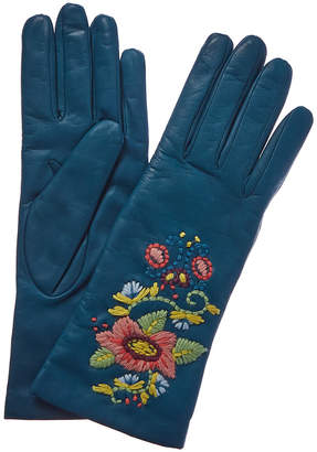 Portolano Cashmere-Lined Leather Glove