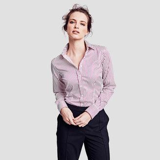 Sasha Wide Stripe Shirt $165 thestylecure.com