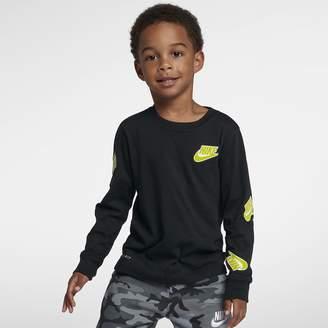 Nike Dri-FIT Little Kids' Long-Sleeve T-Shirt