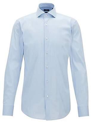 HUGO BOSS Slim-fit shirt in stretch poplin
