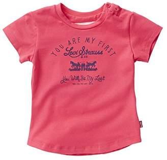 Levi's Baby Girls' Bridget T-Shirt,12-18 Months