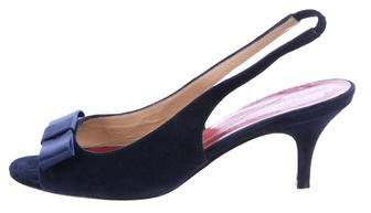 Kate Spade New York Suede Slingback Pumps
