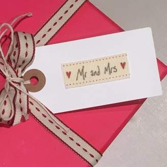 Chapel Cards 'Mr & Mrs' Gift Tag
