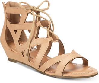 Esprit Chrissy Lace-Up Wedge Sandals Women's Shoes