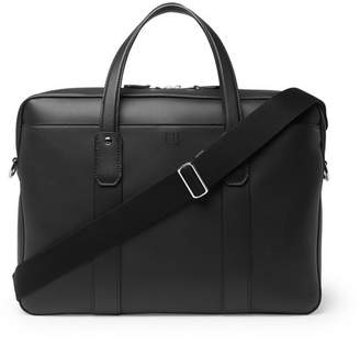 Dunhill Hampstead Leather Briefcase - Men - Black