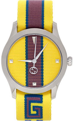 Gucci Yellow G-Timeless Watch