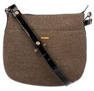 Eric Javits Raffia Crossbody Bag