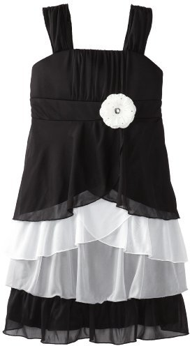 Amy Byer Girls 7-16 Multi Tier Dress