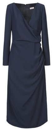 alex vidal 3/4 length dress