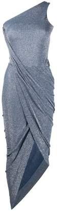 Vivienne Westwood ruched one-shoulder dress