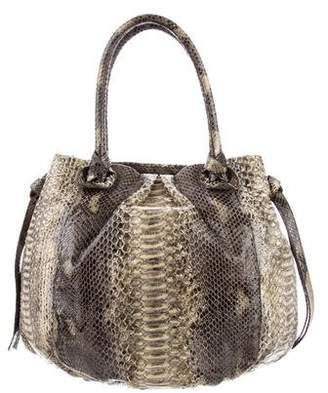 Nancy Gonzalez Python Shoulder Bag