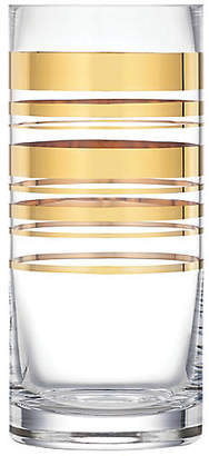 "Kate Spade 10"" Hampton Place Vase - Gold"