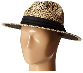 San Diego Hat Company SGM502 Seagrass Panama Fedora w/ Cloth Band Fedora Hats