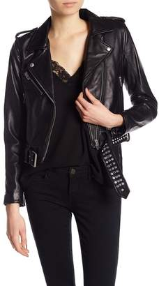 Blank NYC BLANKNYC Studded Leather Jacket