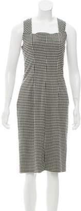 Michael Kors Gingham Midi Dress