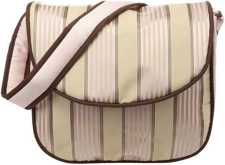 Hoohobbers Bella Pink Messenger Diaper Bag
