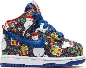 the best attitude ce1d3 4ecf6 Pre-Owned at StockX · Nike SB Dunk High Concepts Ugly Christmas Sweater  2017 ...