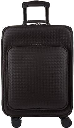 Bottega Veneta Leather Intrecciato Weave Cabin Trolley (55cm)