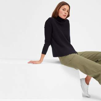 Everlane The Cashmere Square Turtleneck