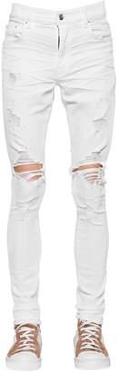 Amiri 15cm Trasher Stretch Cotton Denim Jeans