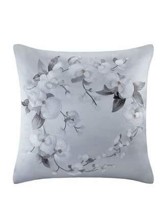 Natori White Orchid European Sham