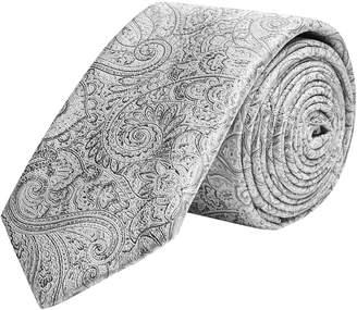 Topman Silk Paisley Tie Handkerchief Set
