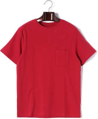 Saturdays NYC (サタデーズ ニューヨーク) - SATURDAYS NYC RANDALL ワンポケット クルーネック 半袖Tシャツ レッド s