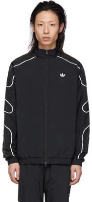 adidas Black Flamestrike Woven Track Jacket