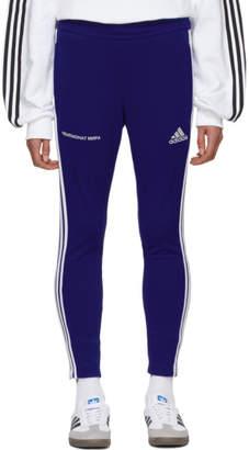 Gosha Rubchinskiy Blue adidas Originals Edition Track Pants