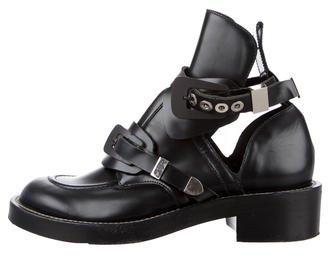 Balenciaga Balenciaga Ceinture Ankle Boots