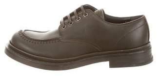 Calvin Klein Collection Round-Toe Derby Shoes