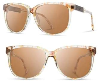 Shwood 'McKenzie' 57mm Polarized Sunglasses
